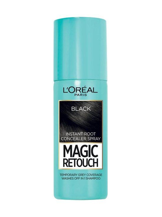 L'Oréal Paris - Magic Retouch -suihkutettava tyvisävyte - BLACK   Stockmann - photo 1