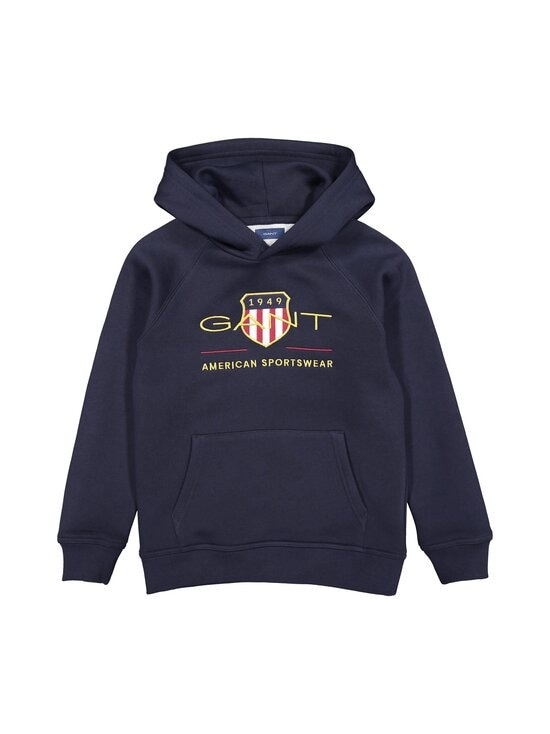 GANT - Archive Shield Hoodie -huppari - 433 EVENING BLUE | Stockmann - photo 1