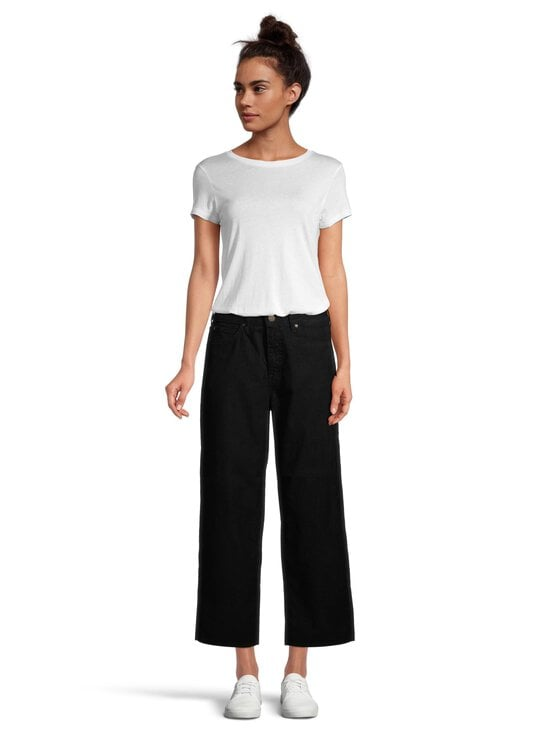 Lee - Wide Leg Corduroy -vakosamettihousut - BLACK | Stockmann - photo 2