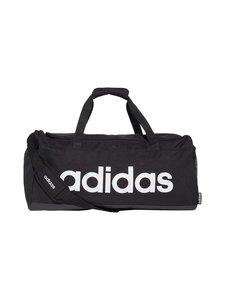 adidas Performance - Linear Duffel Bag -laukku - BLACK/BLACK/WHITE | Stockmann