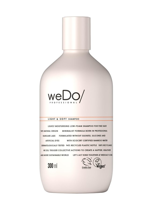 Light & Soft -shampoo 300 ml