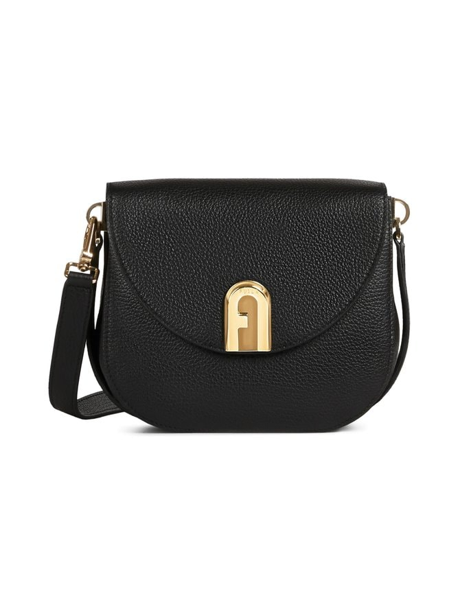 Sleek Mini Crossbody -nahkalaukku