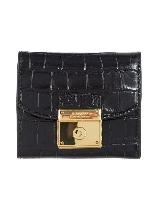 Lauren Ralph Lauren - Lock Wallet Medium -nahkalompakko - 2WAH BLACK | Stockmann - photo 1
