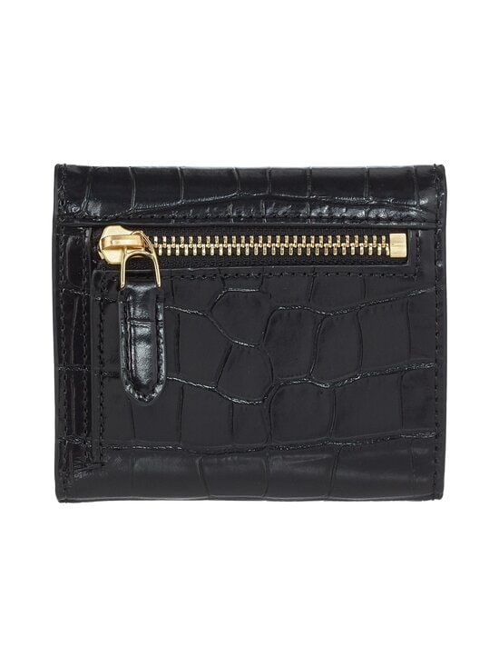Lauren Ralph Lauren - Lock Wallet Medium -nahkalompakko - 2WAH BLACK | Stockmann - photo 3