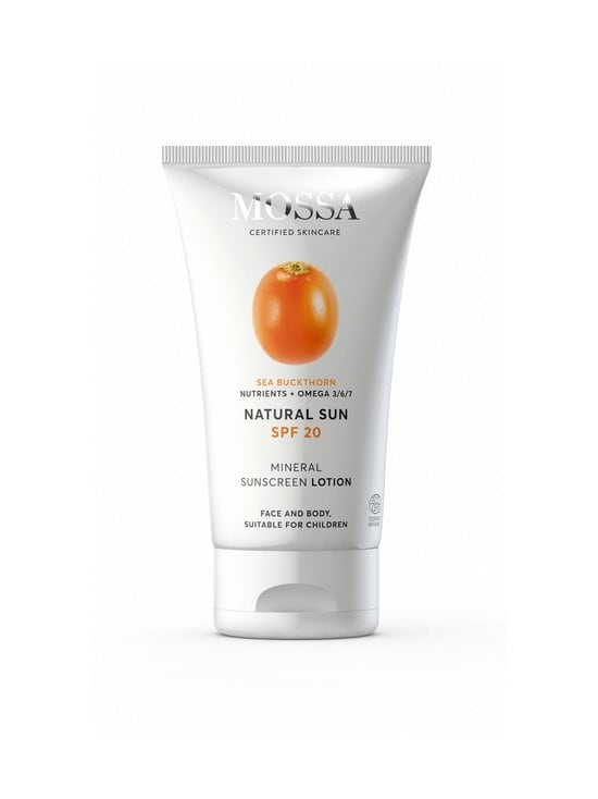 Mossa - Natural Sun SPF 20 Mineral Sunscreen Lotion -aurinkosuojavoide 100 ml - NOCOL | Stockmann - photo 1