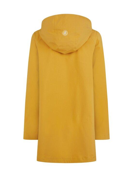 Save The Duck - Grin Brooke trench coat w hoodLC03/21 -takki - 60000 OCHRE YELLOW | Stockmann - photo 2
