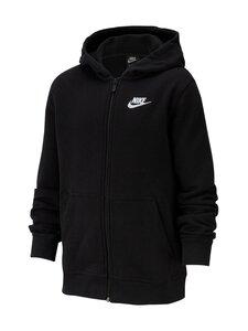 Nike - Sportswear Club Full-Zip Hoodie -huppari - BLACK/BLACK/WHITE | Stockmann