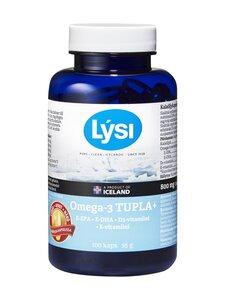 Lysi - Omega-3 TUPLA+ -kalaöljyvalmiste 100 kaps. - null | Stockmann