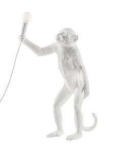 Seletti - Monkey Lamp Standing -pöytävalaisin - VALKOINEN | Stockmann