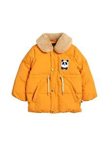 Mini Rodini - Panda Puffer Jacket -takki - 226 ORANGE   Stockmann