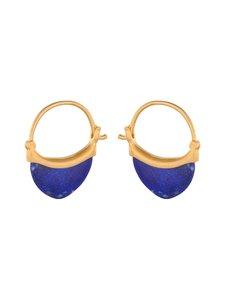 Pernille Corydon - Small Lapis Lazuli -korvakorut - GOLD | Stockmann