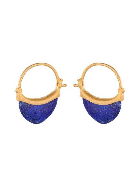 Pernille Corydon - Small Lapis Lazuli -korvakorut - GOLD | Stockmann - photo 1