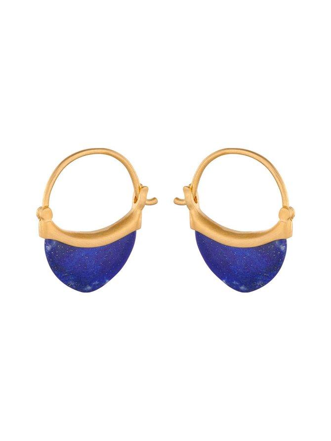 Small Lapis Lazuli -korvakorut