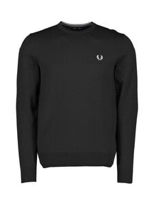Fred Perry - Classic Crew Neck Jumper -neule - BLACK | Stockmann