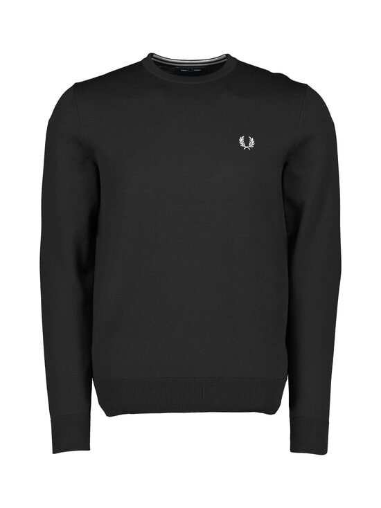 Fred Perry - Classic Crew Neck Jumper -neule - BLACK | Stockmann - photo 1