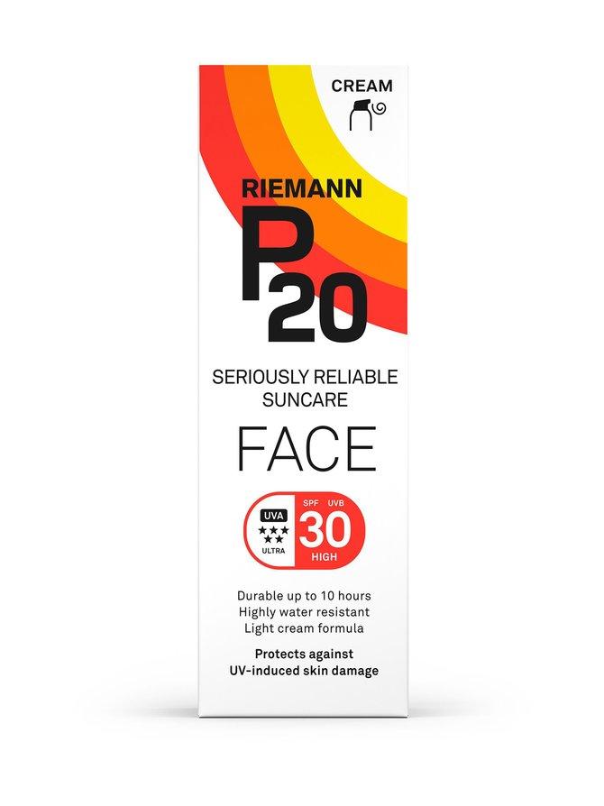 P20 Face SPF 30 -aurinkovoide kasvoille 50 g