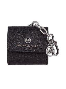 Michael Michael Kors - Clipcase for AirPods -nahkakotelo - 001 BLACK | Stockmann