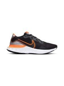 Nike - Renew Run -juoksukengät - 001 BLACK/TOTAL ORANGE-PARTICLE GREY-WHITE | Stockmann