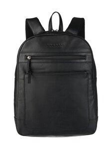 Bugatti - Corso Backpack -nahkareppu - 01 BLACK | Stockmann