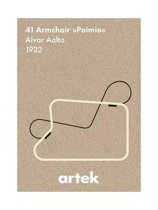Artek - Ikoni Paimio -juliste 50 x 70 cm - RUSKEA | Stockmann