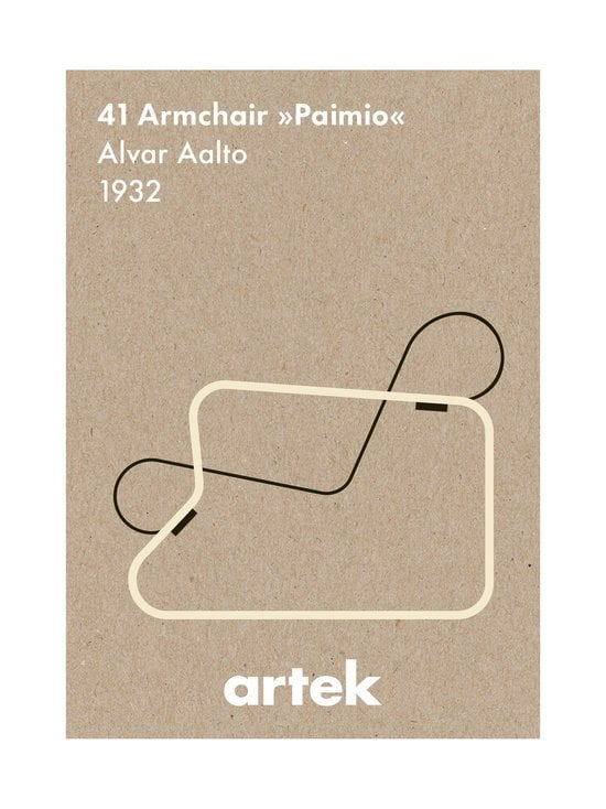 Artek - Ikoni Paimio -juliste 50 x 70 cm - RUSKEA | Stockmann - photo 1