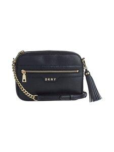 Dkny - Polly Camera Bag -nahkalaukku - BGD - BLK/GOLD | Stockmann