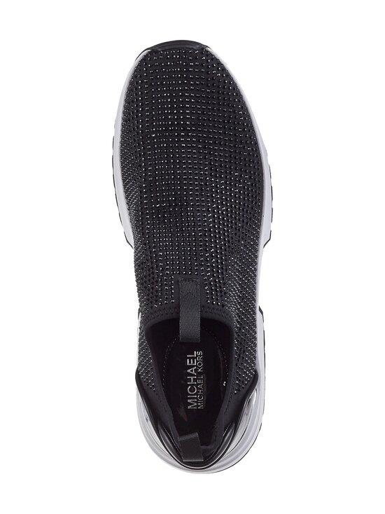 Michael Michael Kors - Cosmo Embellished Stretch Nylon Slip-On Trainer -sneakerit - 001 BLACK | Stockmann - photo 2