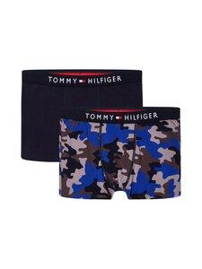 Tommy Hilfiger - Trunk-bokserit 2-pack - 0Y3 MLU/CAMO/AOP/DESERT SKY | Stockmann