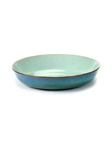 Serax - Terres De Rêves M -lautanen ⌀ 21 cm - LIGHT BLUE/SMOKEY BLUE (SININEN) | Stockmann
