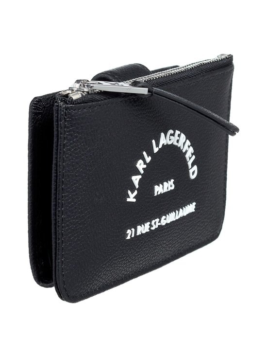 Karl Lagerfeld - Rue St Guillaume Zip Card Hold -korttikotelo - 999 BLACK | Stockmann - photo 2