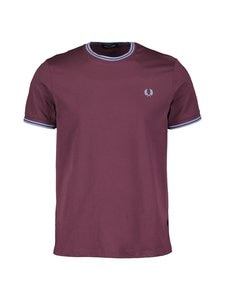 Fred Perry - Twin Tipped -paita - 654 MAHOGANY | Stockmann