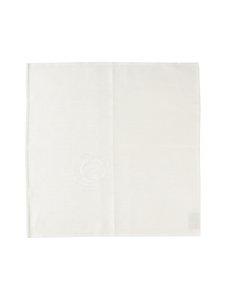 Lapuan Kankurit - 100 Ruusua -pellavalautasliina 48 x 48 cm - VALKOINEN | Stockmann