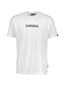 Napapijri - S-Box SS T-shirt -paita - BRIGHT WHITE | Stockmann