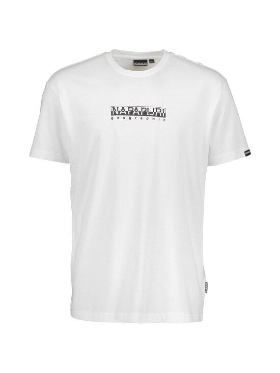 Napapijri - S-Box SS T-shirt -paita - BRIGHT WHITE | Stockmann - photo 1