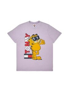 Tommy Jeans - Tommy Jeans X Garfield T-Shirt -paita - W02 LILAC DAWN | Stockmann