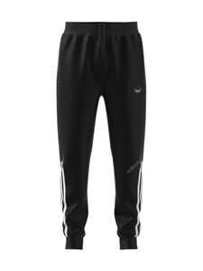 adidas Originals - TRACK PANTS -veryttelyhousut - BLACK/WHITE | Stockmann