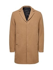 Selected - SlhHagen Wool Coat -villakangastakki - CAMEL | Stockmann