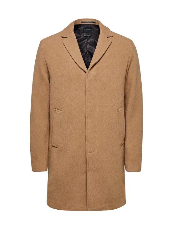 Selected - SlhHagen Wool Coat -villakangastakki - CAMEL | Stockmann - photo 1