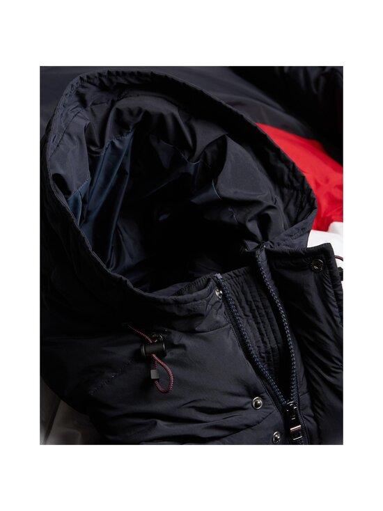 Tommy Hilfiger - Chevron Colour-Blocked Hooded -takki - DW5 DESERT SKY | Stockmann - photo 4