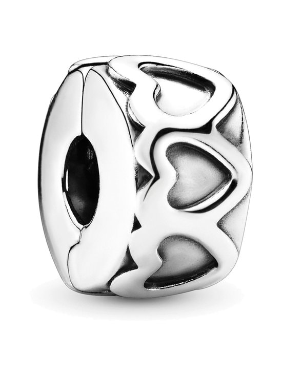 Pandora - Heart Silver Clip -koru - SILVER | Stockmann - photo 1