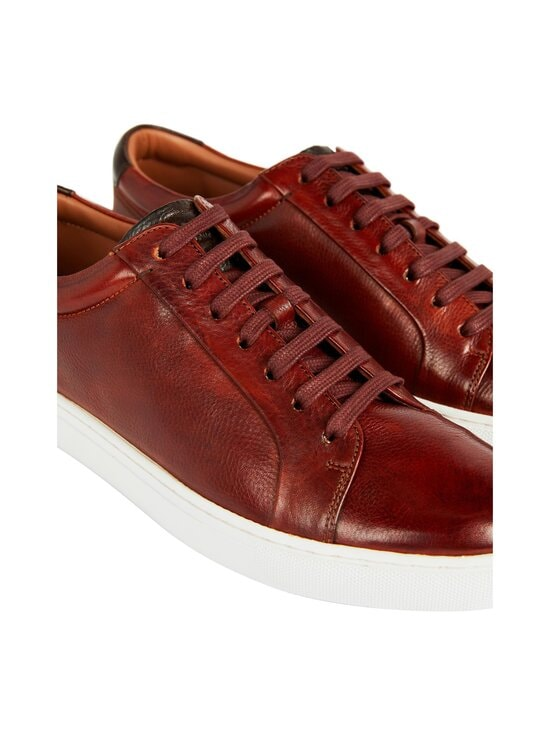 Ted Baker London - Udamo Leather Sneaker -nahkasneakerit - 23 LT-BROWN | Stockmann - photo 2