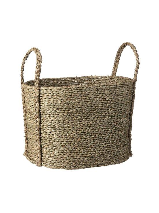 Casa Stockmann - Mori Seagrass Basket -kori 40 x 27 x 29 cm - NATURAL | Stockmann - photo 1