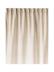 Linum - Paolo-samettiverho 135 x 290  cm - CREAMY BEIGE | Stockmann
