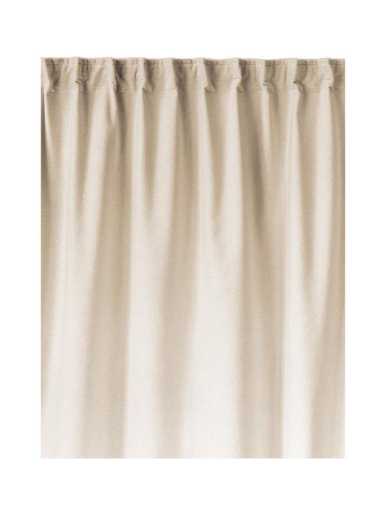 Linum - Paolo-samettiverho 135 x 290  cm - CREAMY BEIGE   Stockmann - photo 1