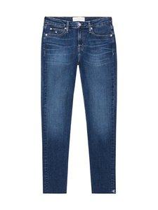 Calvin Klein Jeans - Mid Rise Skinny Ankle -farkut - 1BJ AB115 DARK BLUE EMBRO RWH | Stockmann