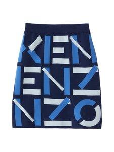 Kenzo - Monogram Mini Skirt -hame - 77 MIDNIGHT BLUE | Stockmann