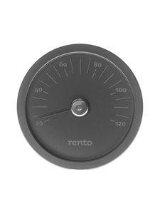 Rento - Saunan lämpömittari - MUSTA | Stockmann