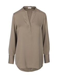Filippa K - Pull-on Silk Blouse -silkkipusero - 8685 GREY TAUPE | Stockmann