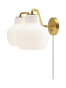 Louis Poulsen - VL Ring Crown -seinävalaisin Ø 30,5 cm - WHITE/BRASS | Stockmann