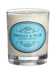 Naturally European - Freesia & Pear Luxury Candle -tuoksukynttilä | Stockmann